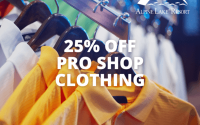 25% Off Pro Shop Clothing