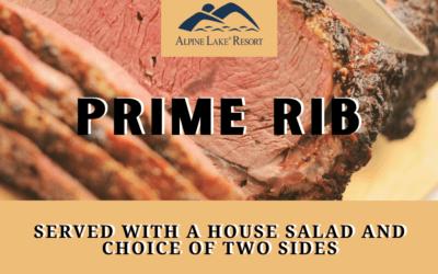 Prime Rib Saturdays