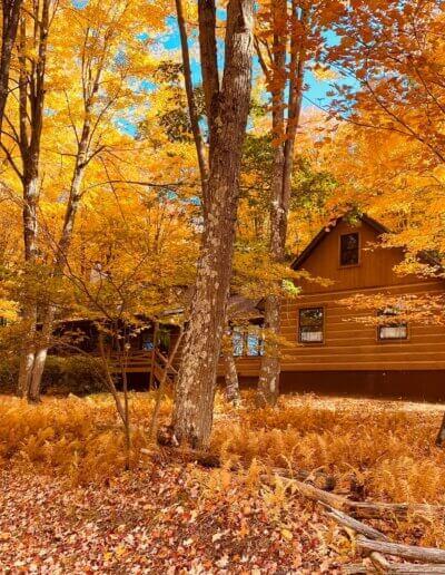 Cabin at West Virginia resort