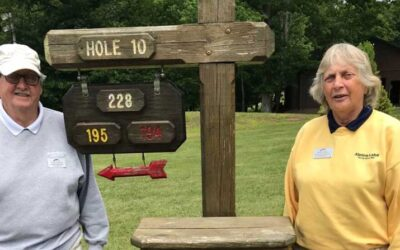 Golf Couple Take on Latest Golf Challenge Together